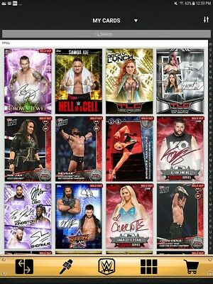 2018 Topps Slam Limited Signature Now Insert Lot of 48 Different Digital