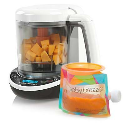Baby Brezza Small Baby Food Maker Set – Cooker and Blender In One to Steam and P