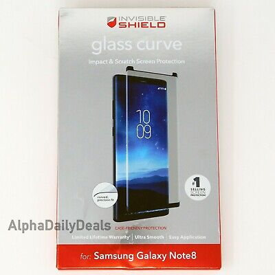 ZAGG Invisible Shield Glass Curve Screen Protector for Samsung Galaxy Note8
