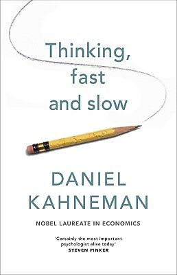 Thinking Fast and Slow Audiobook By Daniel Kahneman