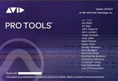 AVID PRO TOOLS 12 2018 2019 Perpetual License Activation w