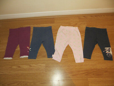 Great bundle of leggings for baby girl age 3-6mths from Mothercare, Next and TU