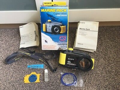 DSC P5 P3 Sony Diving Marine Pack Cyber Shot 40M Camera Case Hobby Sports Ocean