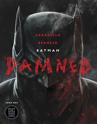 Batman Damned #1  By Dc Black Label Uncensored! Limited Print! No 2Nd Print!