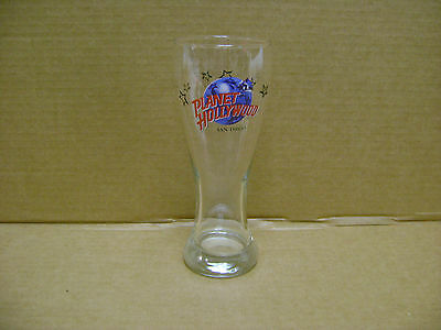 Planet Hollywood ~ San Diego ~ Tall Pilsner Beer Glass