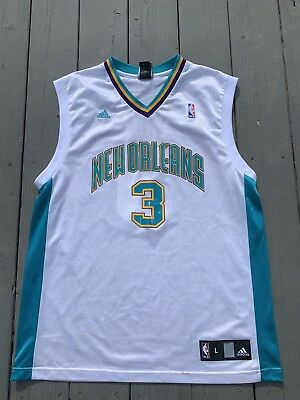 b31e7a6c710 ADIDAS NEW ORLEANS HORNETS CHRIS PAUL Jersey Men s Size Large ...