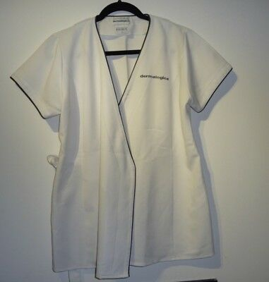 Dermalogica Beauty Therapist Tunic in white by Florence Roby - Size 14