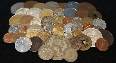 Nice mixed lot of Older coins Lot #3008 Foreign coin Bags of 50 each