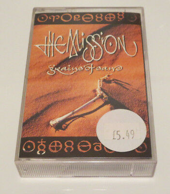 The Mission ‎– Grains Of Sand - Cassette Tape Album - 1990!