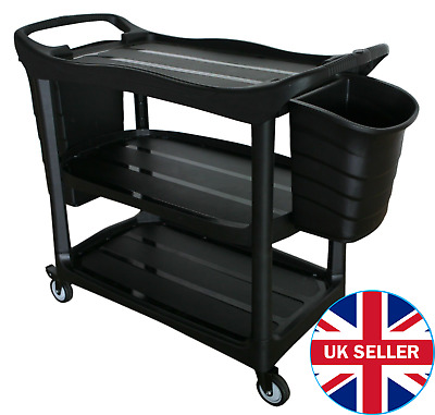Commercial Trolley - 2 BucketsSuitable for catering or janitorial waste disposal