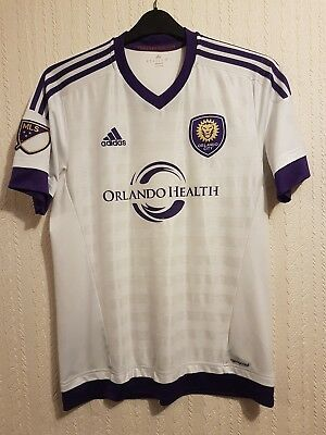 Mens Football T-shirts Orlando City Size M