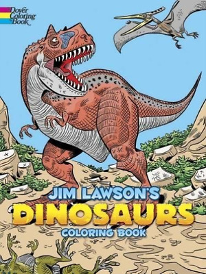 Lawson, Jim-Jim Lawson`S Dinosaurs Coloring Book (UK IMPORT) BOOK NEW