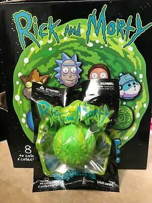 1x RICK AND MORTY GREEN PORTAL OFFICIAL LICENSED SQUISHME SQUISHY NEW w/ BAG