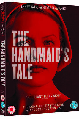 The Handmaids Tale Season 1 DVD - 4 DVDs - Watched Once