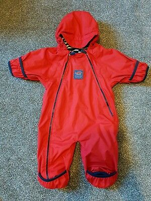 Jojo Maman Bebe Unisex Snowsuit. Waterproof, fleece lined, ex cond. 0-3months
