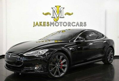2015 Tesla Model S P90D ($138,700 MSRP!) **LUDICROUS SPEED UPGRADE** 2015 TESLA MODEL S P90D~ $138,700 MSRP!~ LUDICROUS SPEED UPGRADE~ BLACK ON BLACK
