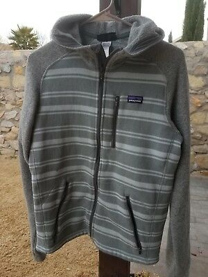 Patagonia Mens Better Sweater 14 Zip Pullover 25522 Big Sur Blue