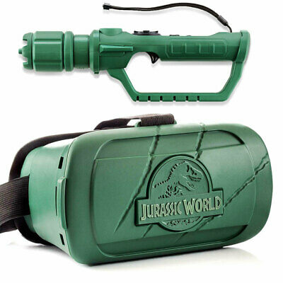 VRSE Jurassic World VR Glasses Virtual Reality Game w/ Bluetooth fro Android/iOS