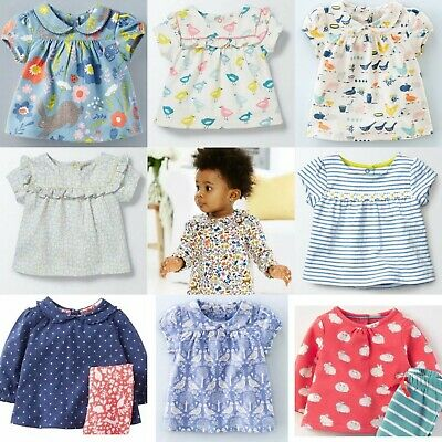 Ex Baby Boden Pretty Collar Tops 0-4Years RRP £24