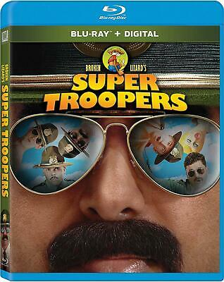 New Super Troopers Special Edition Blu Ray Digital Hd Free S&H 1St Class