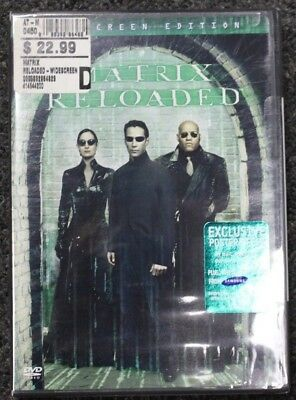 The Matrix Reloaded Widescreen Edition New DVD