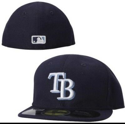 buy online 80dbc 2bb4a ... shop new era tampa bay rays game 59fifty fitted hat light navy mlb cap  size7 db6ce