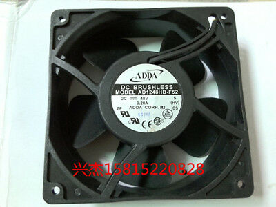 for ADDA AD1248HB-F52 Industrial cooling fan DC48V 0.2A 120X120X38mm 3pin