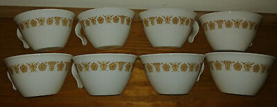 Lot Of Eight (8) Corelle Cups - Look!