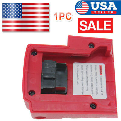 USB Port Charger For Milwaukee 49-24-2371 M18 Lithium-Ion Power Source DC12V Hot