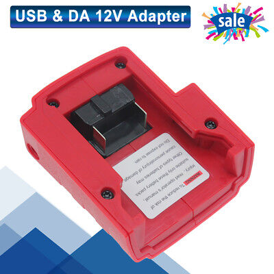 Quality USB Port Charger Replaces For Milwaukee 49-24-2371 M18 Power Source Fast