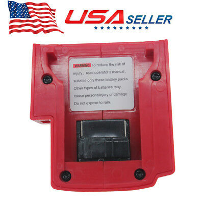 Hot SALE! USB Port Charger Fit For Milwaukee 49-24-2371 M18 Power Source US Ship