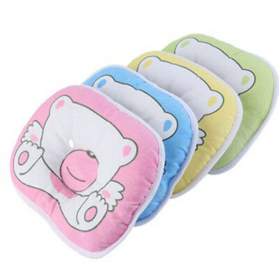 Infant Baby Pillow Prevent Flat Head Cotton Cushion Sleeping Support pad HOT