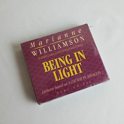 MARIANNE WILLIAMSON - BEING IN LIGHT 4-CD SET (based on A Course in Miracles)