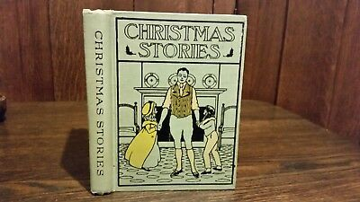 """Antique copy of """"Christmas Stories"""" by Charles Dickens"""