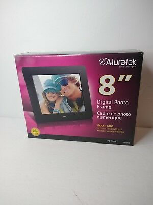 Aluratek 8 Lcd Digital Photo Frame 2299 Picclick