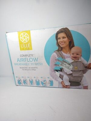 LILLEbaby SC-4A-210N Complete 6 Position Airflow Carrier Navy Blue 7-45lbs