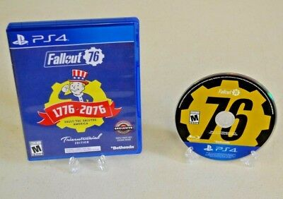 Fallout 76 Tricentennial Edition (Playstation 4, 2018) TESTED PS4