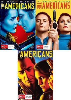 THE AMERICANS Season 4 5 6 (Region 2 UK Compatible) DVD The Complete Series