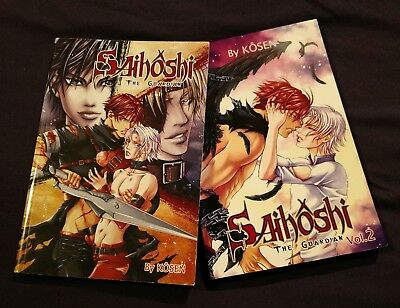 Saihoshi: The Guardian vol.1-2, Yaoi Manga, Yen Press, Gay Romance