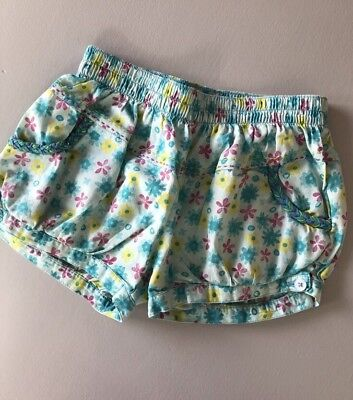 Girl's Floral Shorts By French Brand Orchestra