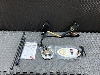 """Fisher Gold Bug Pro Metal Detector 2 Coil Combo 5"""" & 10"""" Waterproof DD Coils"""