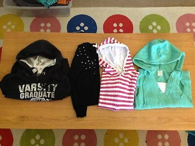Girls size 8 and 10 jumpers bundle
