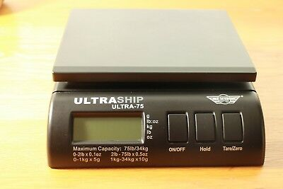My Weigh Ultraship 75 34kg Digital Parcel Weighing Shipping Postal Scales