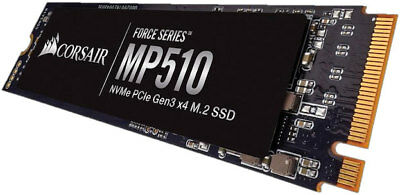 Corsair Force Mp510 240gb M.2(2280) Nvme Pcie Ssd - Upto 3100/ 1050 Mb/ S Upto 1