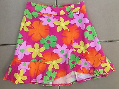 Beautiful Bright Floral Gumboots Skirt Size 7