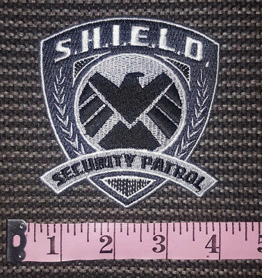 MARVEL COMICS Agents of SHIELD S.H.I.E.L.D Iron-on Logo PATCH! Cosplay, Costume