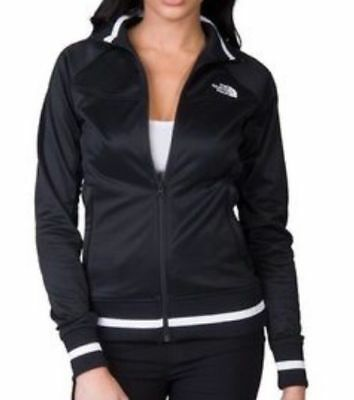 New THE NORTH FACE Women's Takeback Track Jacket Black/White Great Gift