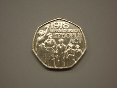 2018 .50 Pence Representation Of The People Act