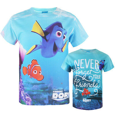 Disney Finding Dory Boys Kids Childrens T-shirt - Official - RRP £14.99