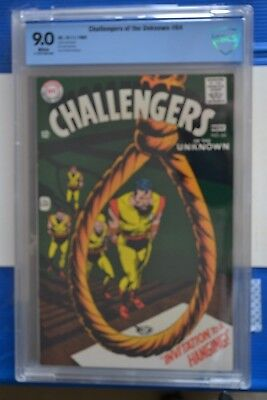Challengers Of The Unknown # 64 : Cbcs {9.0} : Vfn/nm: Dc Comics. 11/ 68. (Cgc)